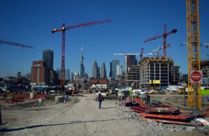 Toronto's Canary District makes way for Pan Am games and new condo development